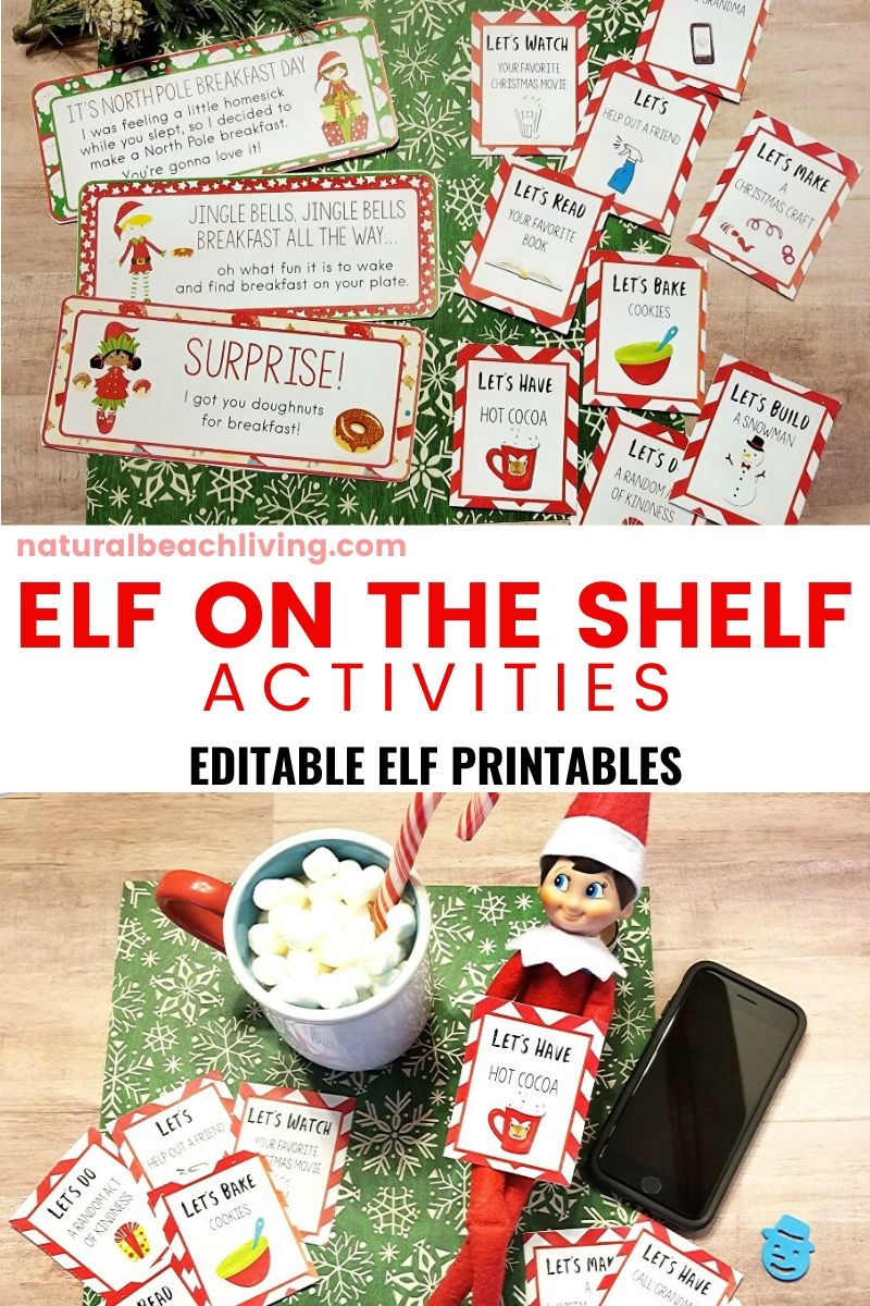 Elf on the Shelf Printable Activities