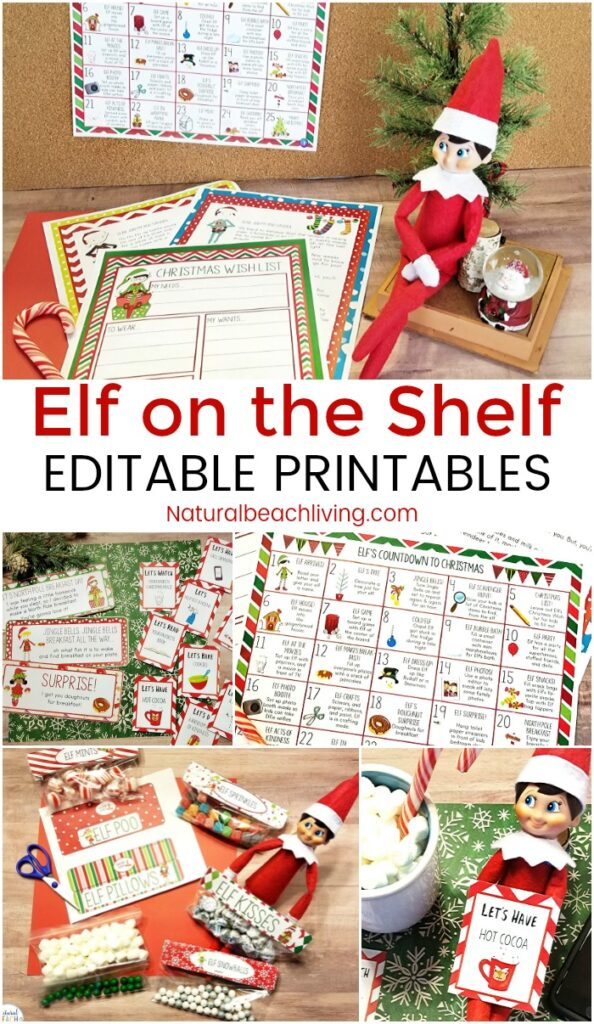 Check out these Elf on the Shelf Printable activities that your child is certain to love! This holiday season, have fun with these Kindness Elf Ideas and enjoy free Elf Printables and Elf on the Shelf Ideas for Toddlers and Preschoolers, Elf on the Shelf Activity Cards for kids. Find The Best Elf on the Shelf Ideas Here