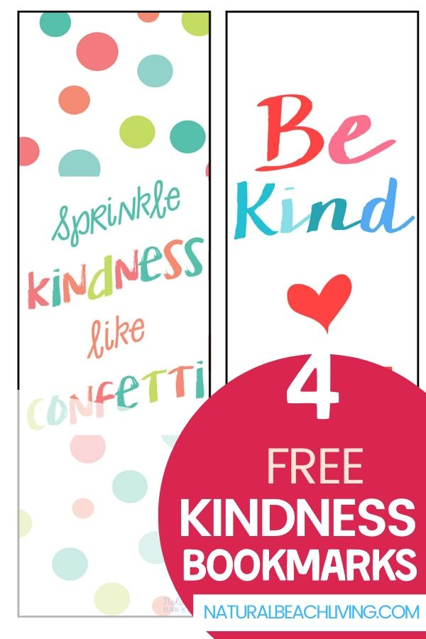 These Kindness Bookmarks are a great way to show kindness in an easy way. Random Acts of Kindness comes in all forms and these free bookmarks prove just that! Free Kindness Bookmarks Printable for Easy Acts of Kindness for Kids. Printing off these kindness bookmarks is such a simple way to spread smiles and happiness to others.
