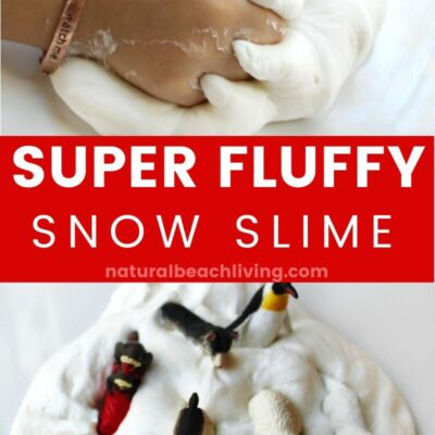 Fluffy Snow Slime Recipe – The Best Snow Slime