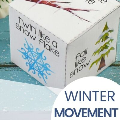 Winter Movement Activities Free Printable for Toddlers and Preschoolers