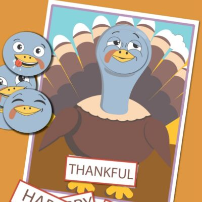 Thanksgiving Theme Feelings and Emotions Activities for Preschoolers