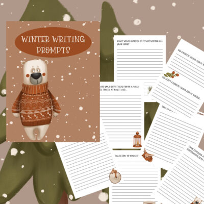 Free Winter Writing Prompts for Kids
