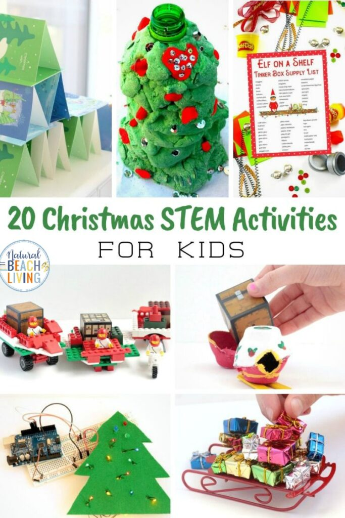 If you're looking for great Christmas STEM activities, make certain to check these out. These inexpensive Christmas STEM experiments are Full of fun and ideas for a wide variety of ages. Christmas stem challenges and Christmas Science Experiments for Kids at home and at school.