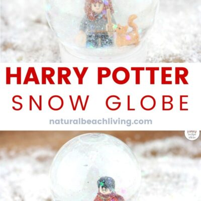 DIY Harry Potter Snow Globe Craft for Kids