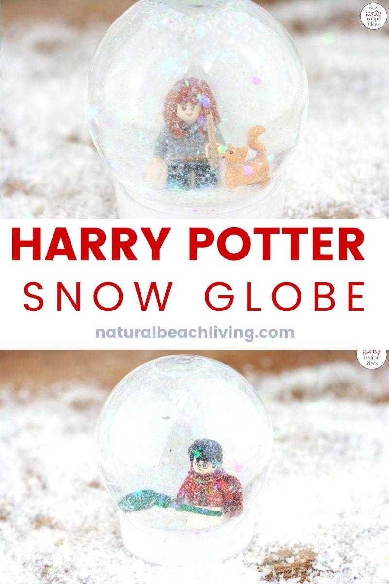 DIY Harry Potter Snow Globe Craft for Kids