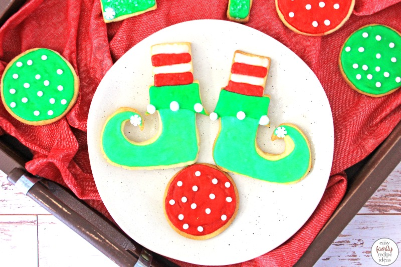 These Elf Cookies are a fun holiday treat! don't miss out on these Elf on the Shelf Ideas for Cookies, They're the cutest cookies ever. And be prepared everyone will want to join in to make these tasty Christmas Cookies!  Elf on the Shelf Sweets, Find The Best Elf on the Shelf Food Ideas Here
