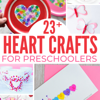 23+ Best Heart Crafts for Preschoolers