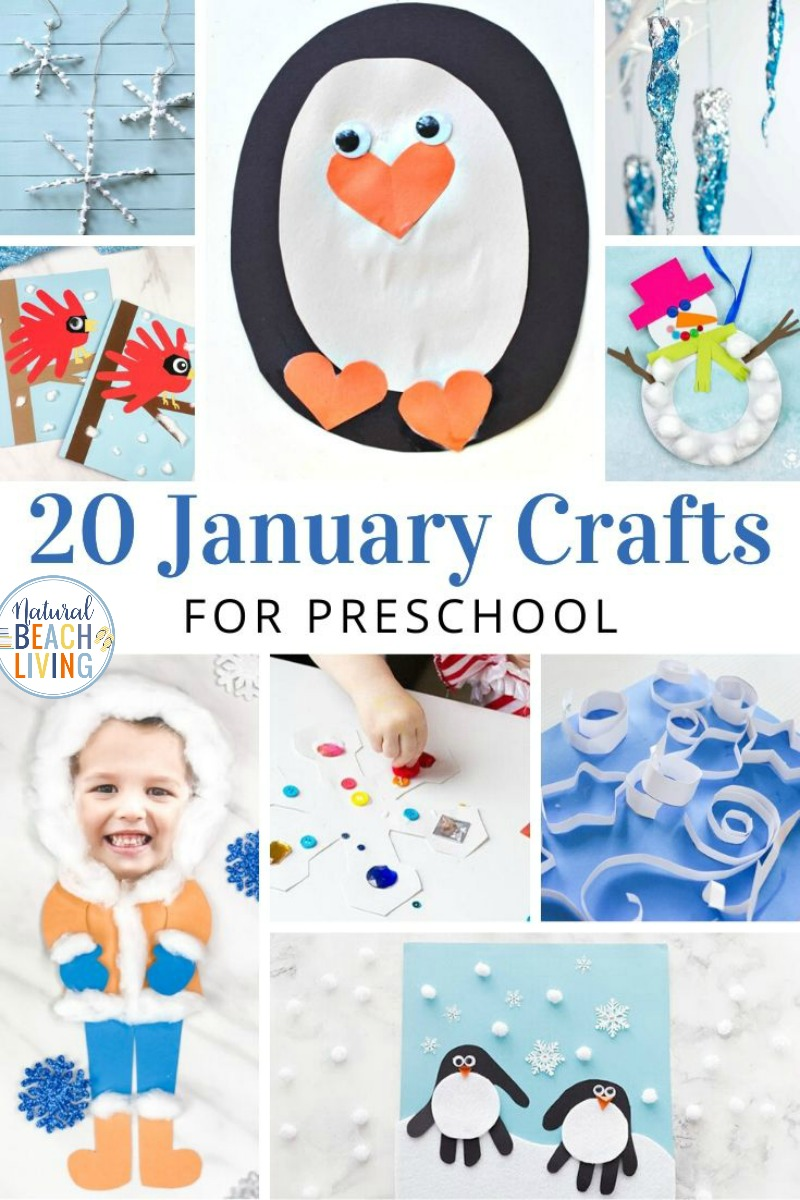 22+ January Preschool Crafts – Easy and Fun to Make