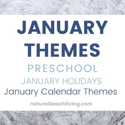 January Themes, Holidays and Activities