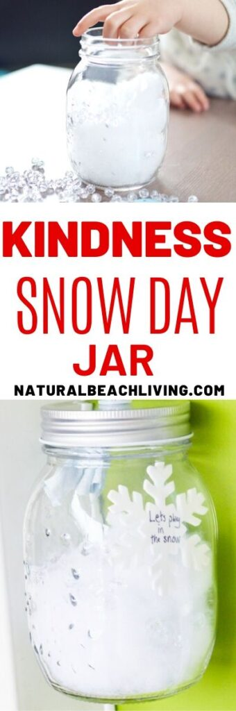Winter Kindness Jar Ideas For Kids Natural Beach Living