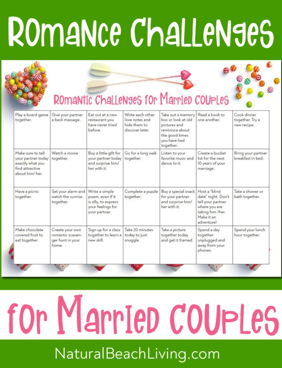 28 Romantic Date Night Ideas Challenge – Creative Ideas for Married Couples
