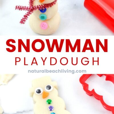 Snow Playdough Recipe Snowman Playdough Kit