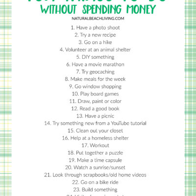 25+ Fun Things To Do Without Spending Money