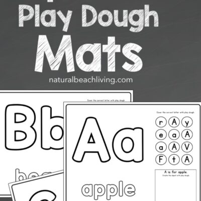Alphabet Playdough Mats Printable Worksheets
