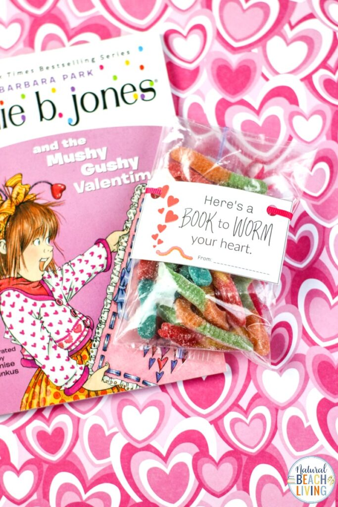 These Children's Valentine's Day Cards for Bookworms are so cute and fun! And the best part is You can hand out great books with the free Valentines day cards! Valentine's day cards for kids that are simple to put together and kids love. Perfect Preschool Valentine Cards, and Kindergarten Valentine Cards too