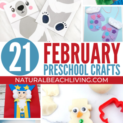 February Preschool Crafts Your Kids Will Love