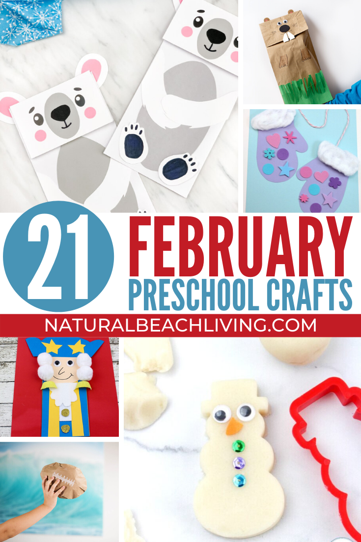 February Preschool Crafts Your Kids Will Love