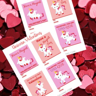 Free Unicorn Valentine Cards Perfect for Kids