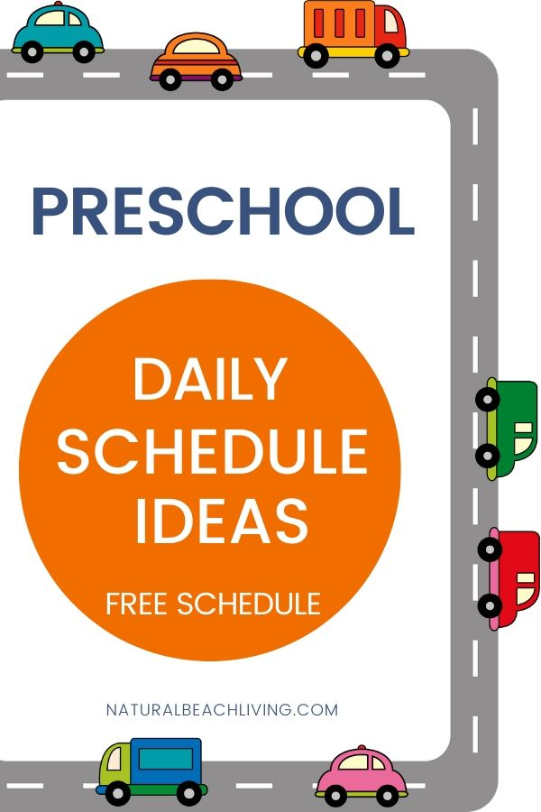 When planning your preschool lessons it is important to plan your Preschool Daily Schedule Ideas around your busy preschoolers needs. Routines help children feel safe because they know what is coming next. See tips for Daily Visual Schedules and get your Preschool Daily Schedule Template Printable Here.