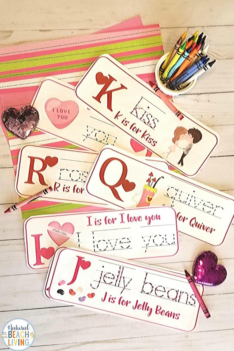 Valentine's Day Preschool Alphabet Activities