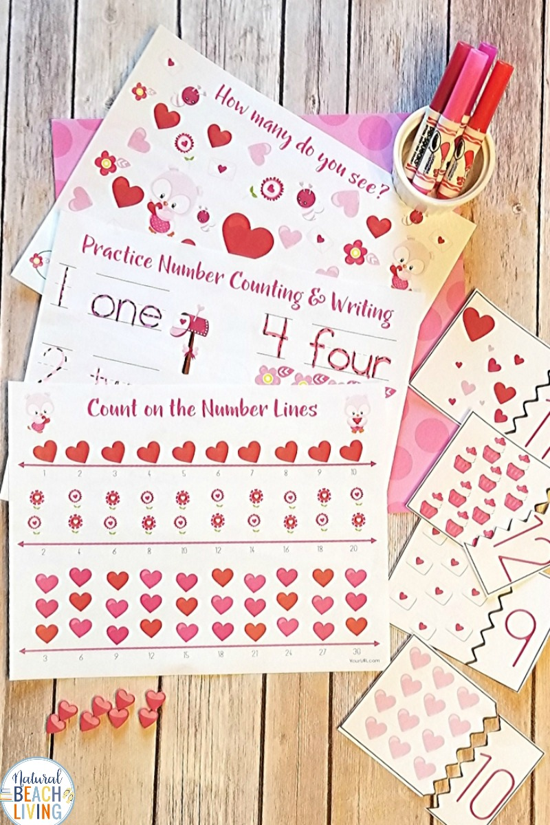 Valentine's Day Math for Preschoolers