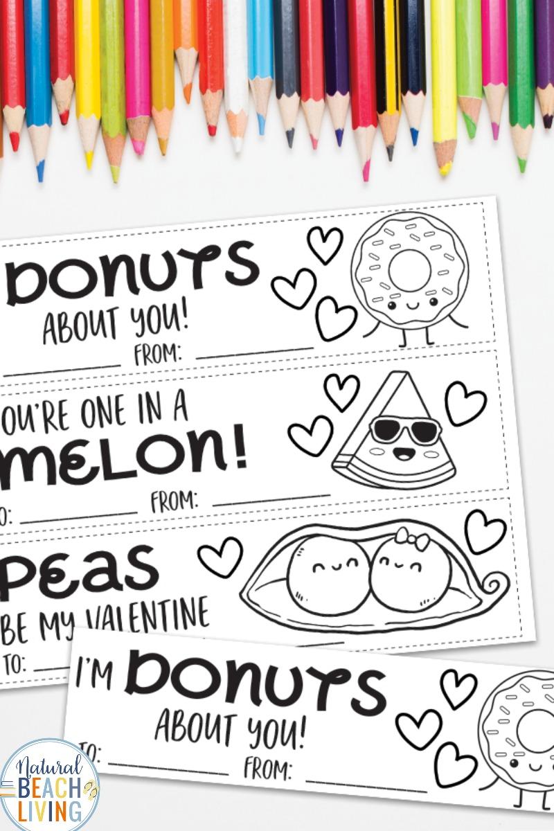 Valentine Printable Bookmarks for Kids – Coloring Bookmarks