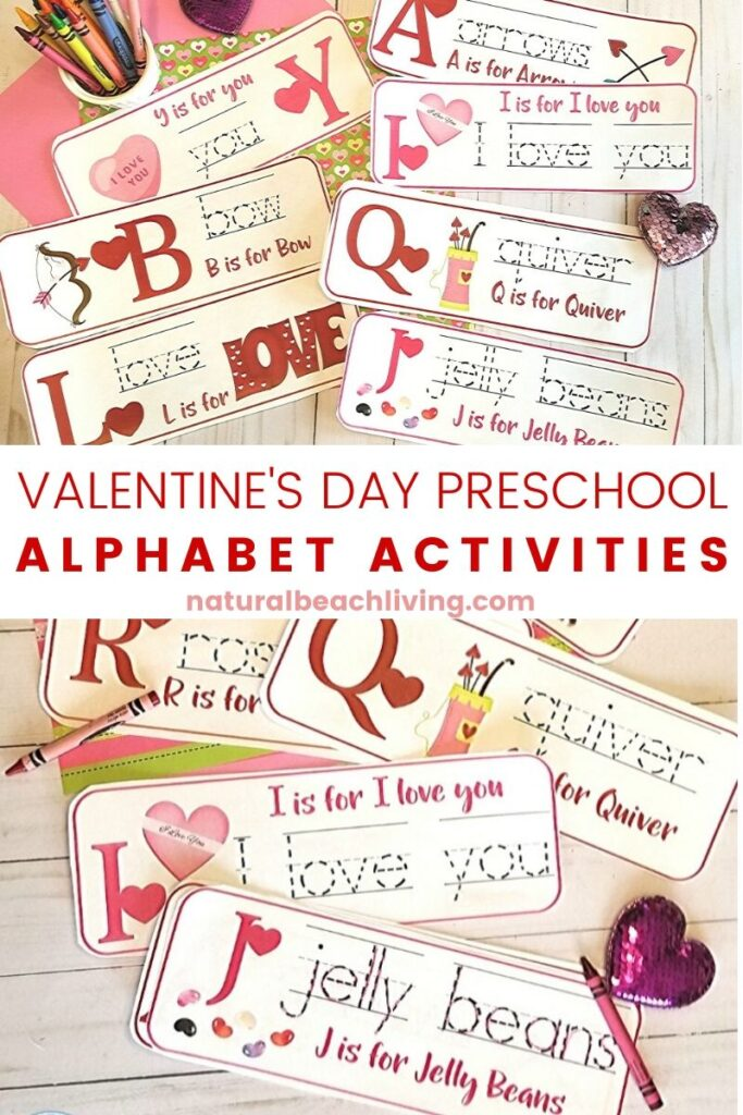Check out this great Valentine's Day Math for Preschoolers! It's a fun way for children to enjoy a Valentine's Day theme and also learning math skills with hands on activities for preschoolers! Valentine Math for Preschoolers, Here you will find Valentine sensory, science, literacy, fine motor, art and of course Math activities with a Valentine theme.