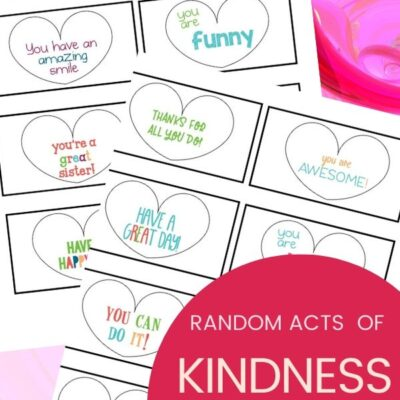 Random Acts of Kindness Hearts – Kindness Cards