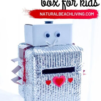 How to Make a Robot Valentine Box – Easy and Cute