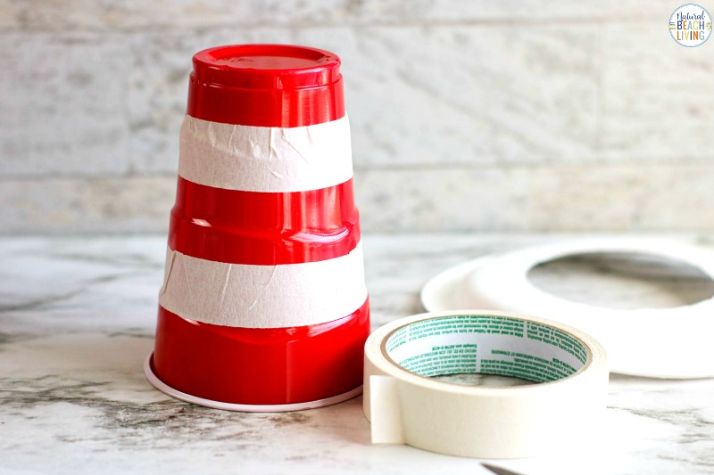 This Dr Seuss Cat in the Hat Craft is really fun to make! All you need are a few simple supplies to get started and you'll have fun Dr. Seuss Party Ideas! Make a Dr. Seuss Solo Cup Hat Craft for Dr.Seuss' Birthday. Add this craft to your Dr Seuss Activities