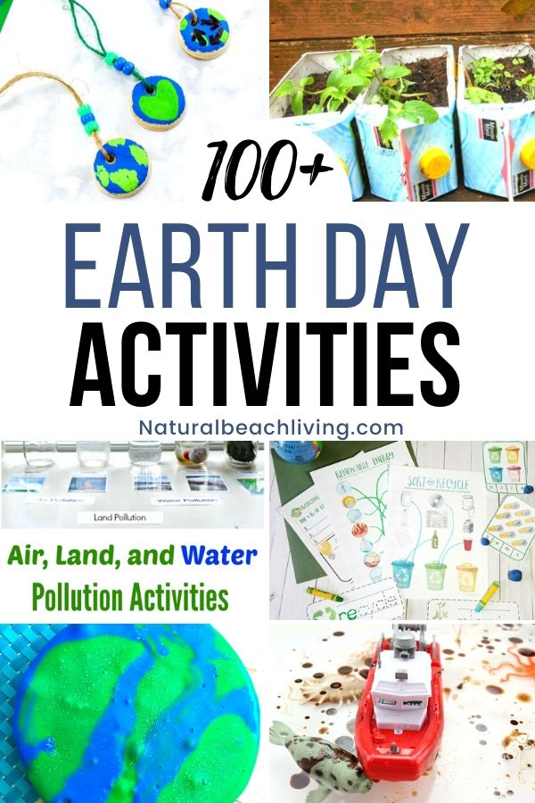 Earth Day Activities to do at Home, These Free Earth Day activities you can do with kids are fun and an excellent way to encourage your kids to protect Earth, Using recyclable materials for crafts and Earth Day Projects for simple hands-on Earth Day activities to make Earth Day every day in your home.