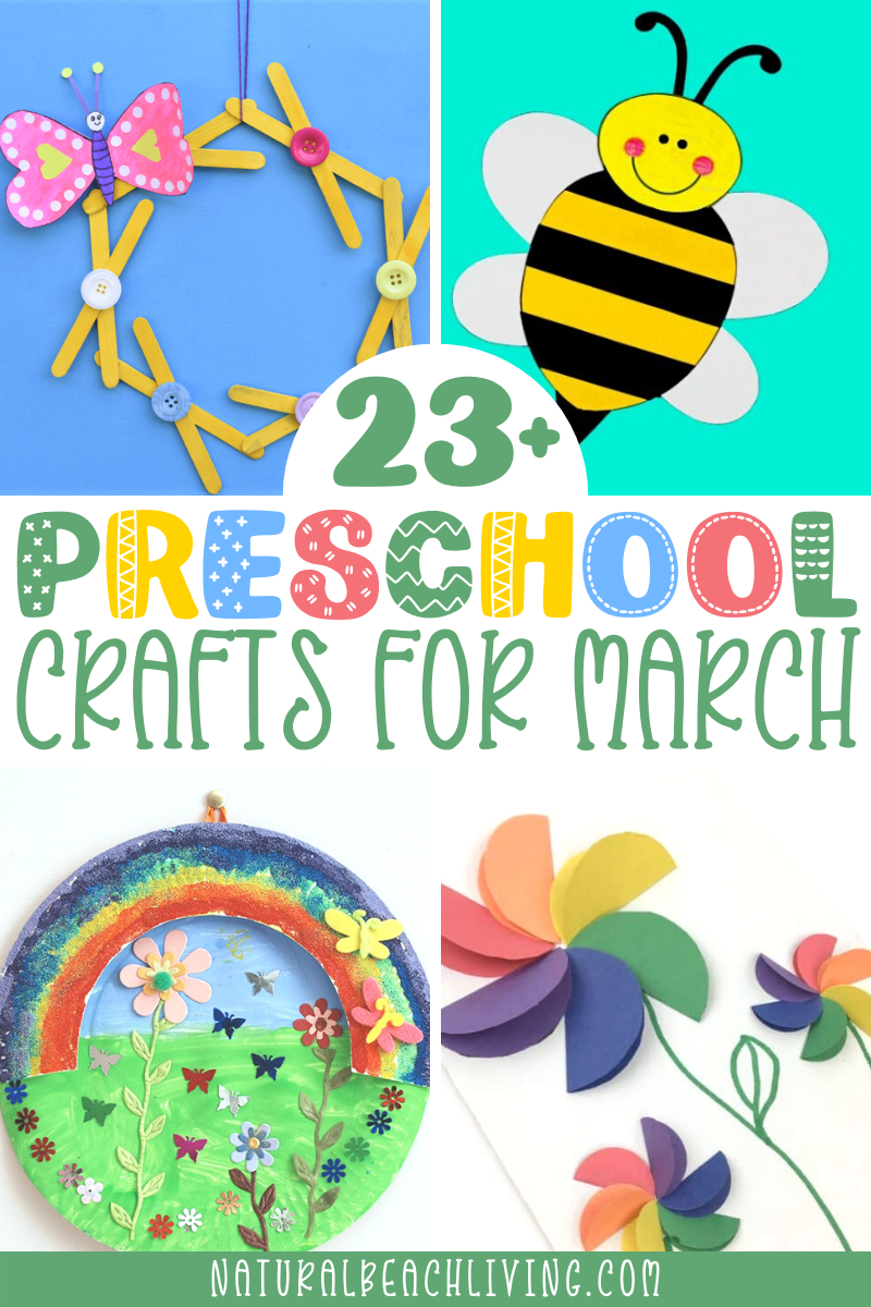 25+ March Preschool Crafts and Activities Everyone Will Love