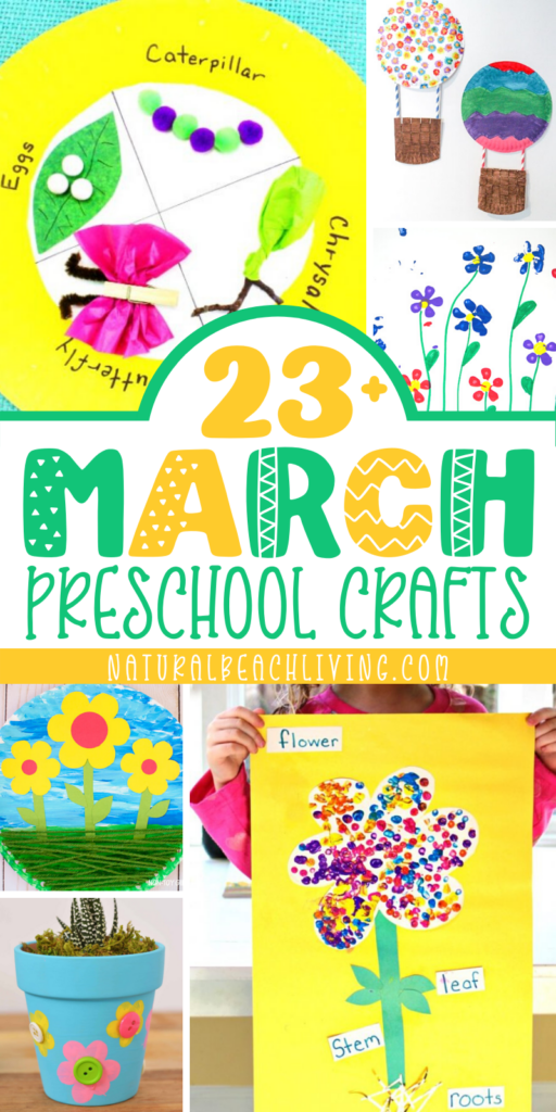 March preschool crafts to do with children or students, Winter is leaving, and spring is arriving so these March Themes are Perfect. Here you'll find March Preschool Arts and Crafts for so many things like preschool planting, rainbows, flowers, weather and more.