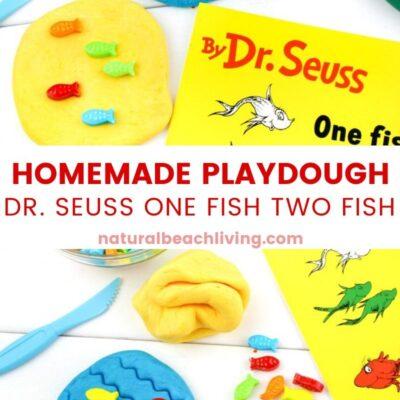 One Fish Two Fish Edible Playdough Recipe