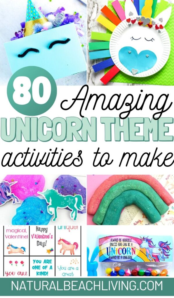 70+ Unicorn Activities including Unicorn Crafts, Unicorn Printables and Unicorn Party Ideas, The Best Unicorn Theme Activities, Unicorn Slime!