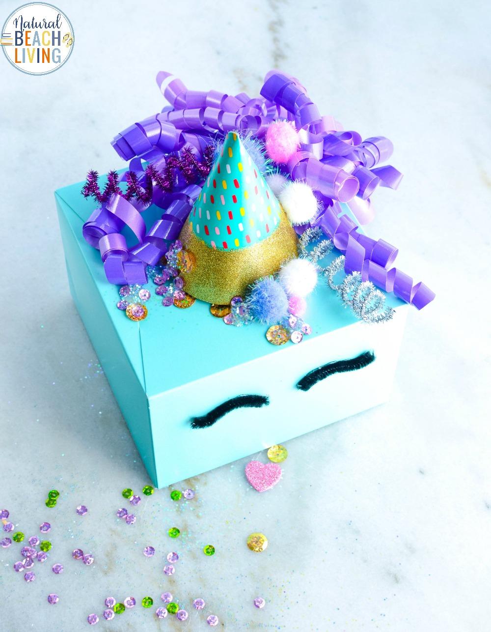 Unicorn Valentine Box The Best DIY Valentine Card Box