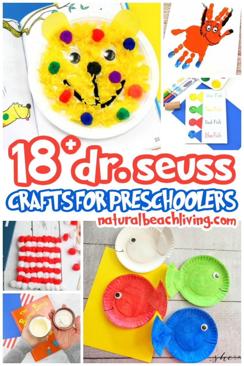 20+ The Best Dr. Seuss Preschool Crafts