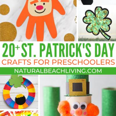 20+ St Patrick's Day Preschool Crafts
