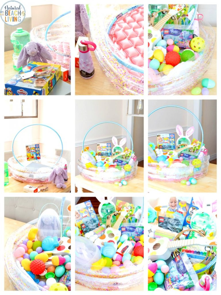 This Giant Easter Basket is so much fun for kids! It's a great way to really surprise them on Easter Morning with a Jumbo size gift! These Easter ideas are fun for all ages and make the Best Easter Basket Ideas for Boys and Girls