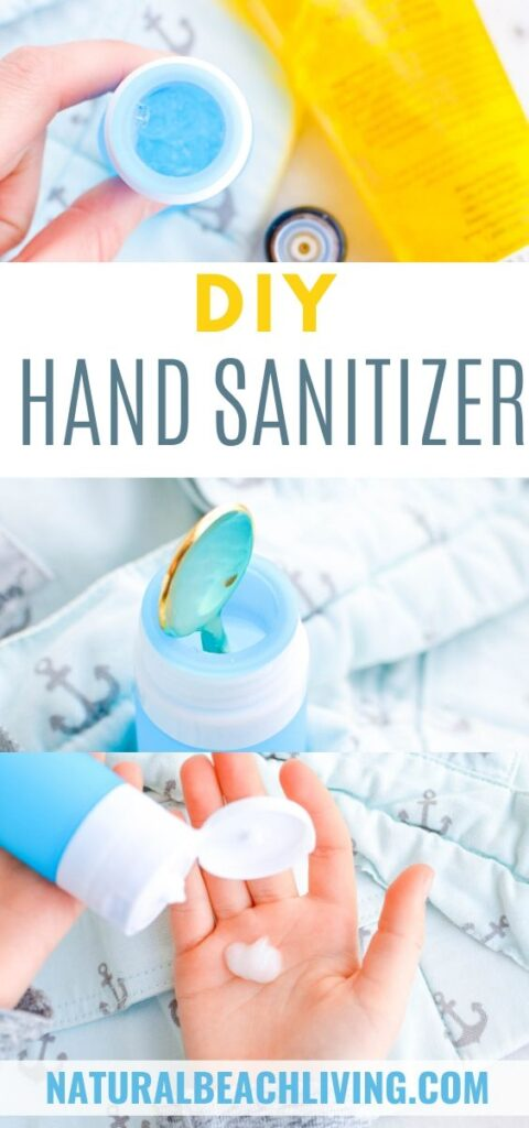 This is by far the easiest DIY hand sanitizer ever. This homemade hand sanitizer is kid safe and you only need 3 ingredients. With all of the concern with health this is an excellent hand sanitizer recipe for kids as well as adults and the project can be expanded to include a discussion about hygiene and disinfection.