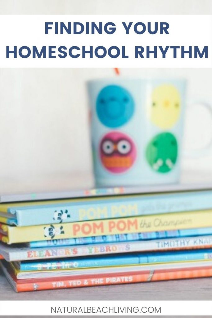 A homeschool rhythm is the best thing you can do for your homeschool. And Finding your perfect homeschool rhythm can be one of the most important things you do for your family. Children thrive on a rhythm that guides them so find out how to create a Homeschool Daily Rhythm Here