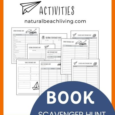 Book Activities for Kids – Free Reading Scavenger Hunts