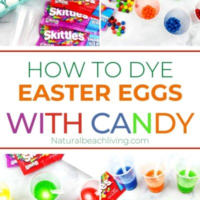 How to Dye Easter Eggs with Skittles – Easy Easter Science