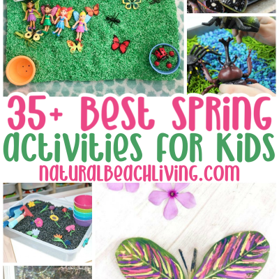 35+ Spring Activities for Kids