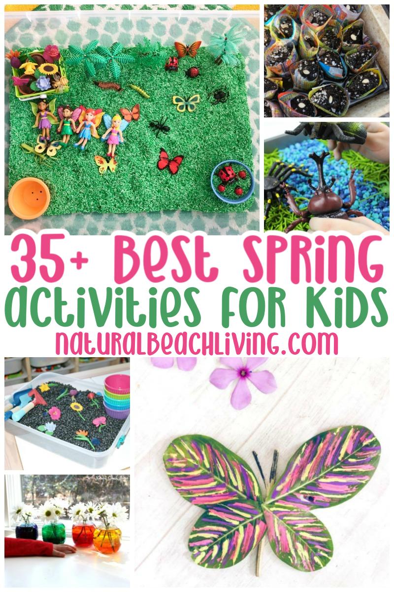 35+ Spring Activities for Kids