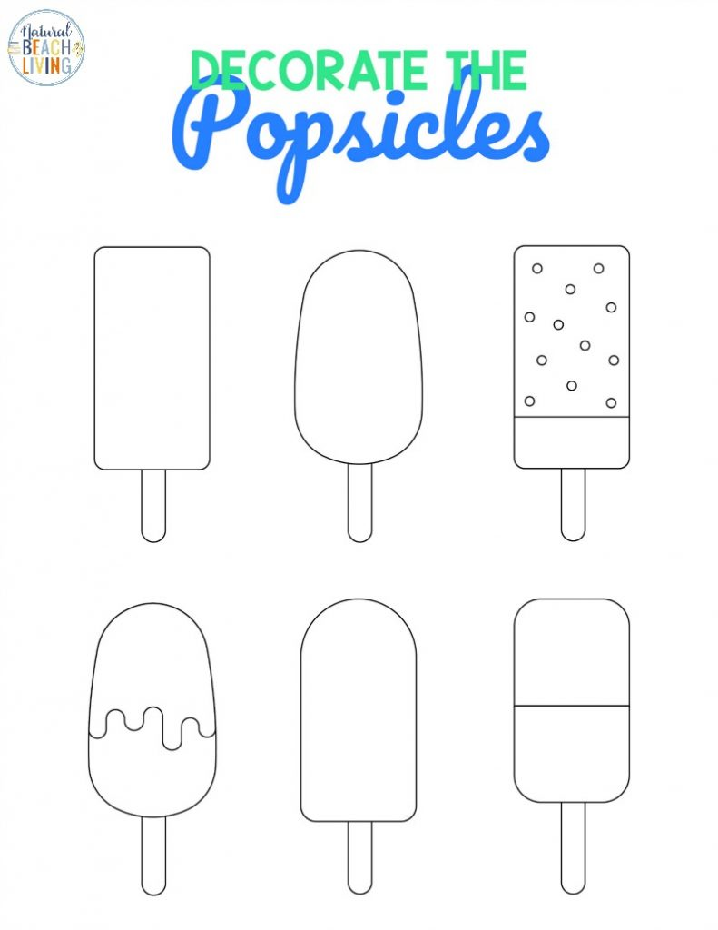 Enjoy these great Preschool Beach Printables for your Ocean Theme Activities. Not only are they fun to use but they're great free preschool printables and coloring pages for kids. Get ready for summer fun with free printable beach activity pages for kids.