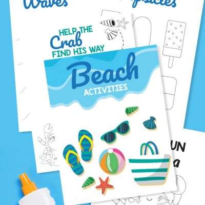 Preschool Beach Printables and Activities