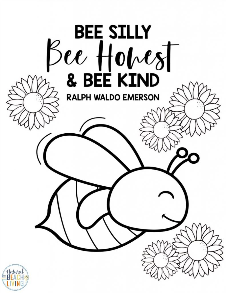These Bee Printables are a fun way to learn about bees. They help your child be creative and are also educational. These Free Bee Coloring Pages and Printable Activities for Kids are perfect for toddlers, preschoolers, and Kindergarten. Add these to your Preschool Bee Theme