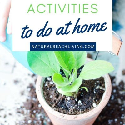 20+ Earth Day Activities to do at Home